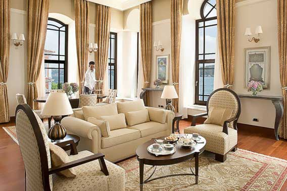 Four seasons istanbul at bosphorus istanbul luxury for Decor hotel istanbul